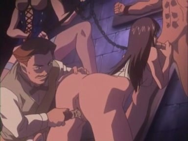 A couple of slaves getting cruel sexual tortures. Young couple of sweet slaves getting the cruelest sexual tortures in anime