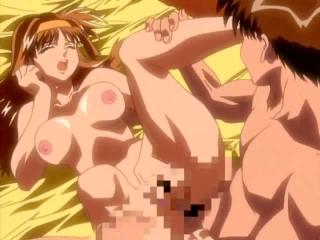 Lusty hentai lovers enjoying each other