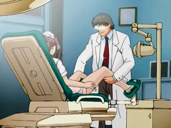 Doc is cruelly examining nurse s pussy. This is one of the cruelest hentai movies from our private collection in which the salacious and insolent doctor has no any doubts and cruelly examines the virgin pussy with his sticking heavy cock.