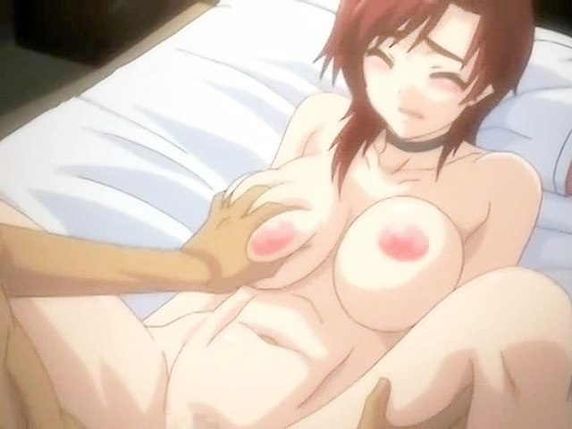 Hentai video with hot bosomy girl.