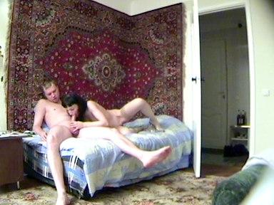 Sexy zralá žena tajně natočena pži orálním sexu