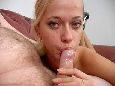 Mystery blonde girl fuck me orally