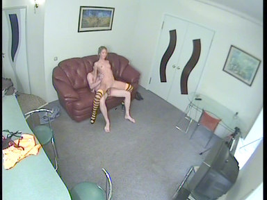 Lustful guy drills the blonde's can
