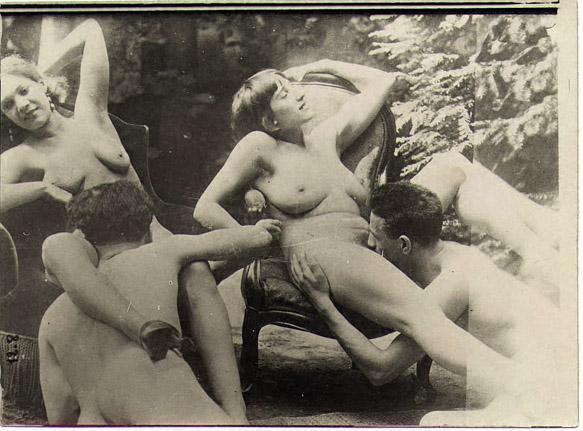 фото порно ретро картинках