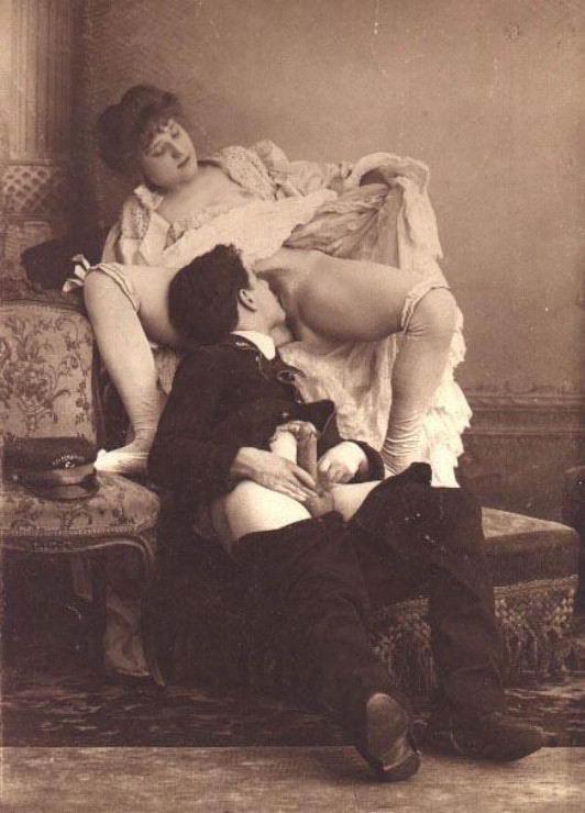 старые фото прошлые века секс