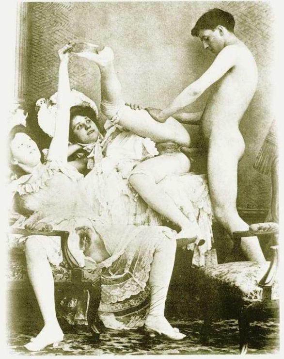 эротика фото прошлого века
