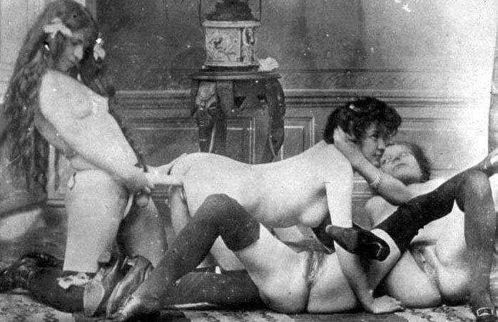 фото секс в старину