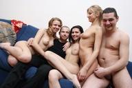 Nasty bimbos suck pistons and eat sperm