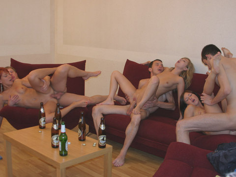 Stripdance turns sentimental fuck orgy