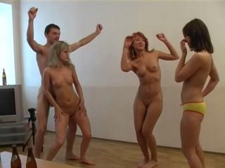 Wild student orgy
