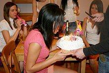 Birthday sex present for hot creamy girl