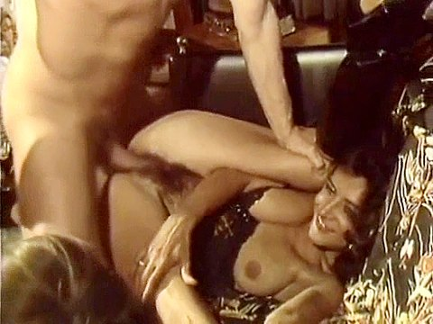 1 Extremely hot vintage porn video